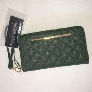 Steve Madden Olive Green Wallet